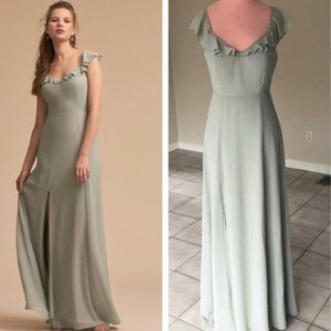 Anthropologie BHLDN Diana Dress Morning Mist, NWOT